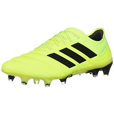adidas Copa 19.1 Firm Ground Soccer Cleats Yellow/Black | Soccer