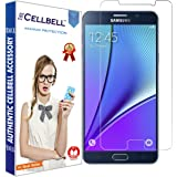 CELLBELLSamsung Galaxy Note 5 Tempered Glass Screen Protector with Free Installation Kit