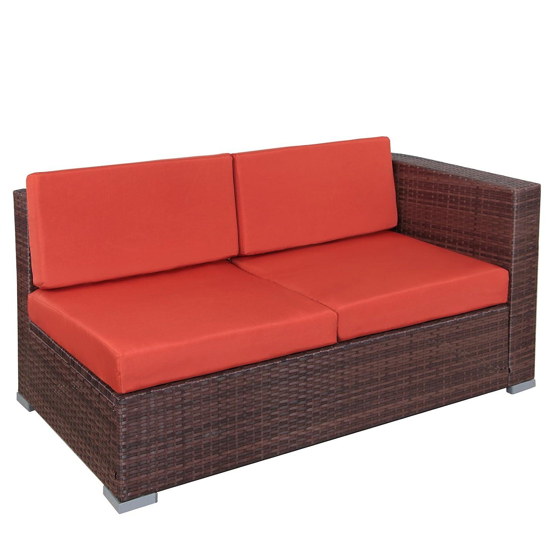Amazon.de: 25 teilige Poly-Rattan Lounge Sitzgruppe HAVANNA ...