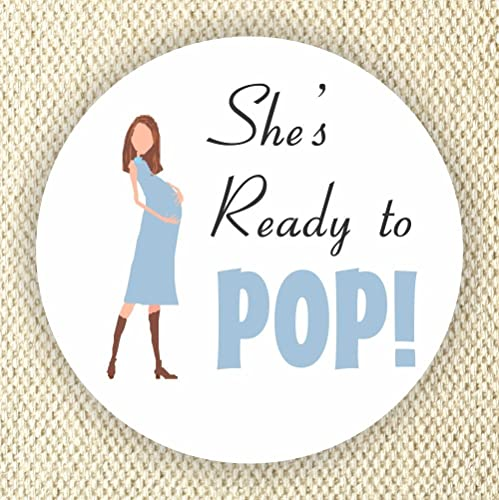 Amazon Baby Shower Stickers Ready To Pop Stickers Favor