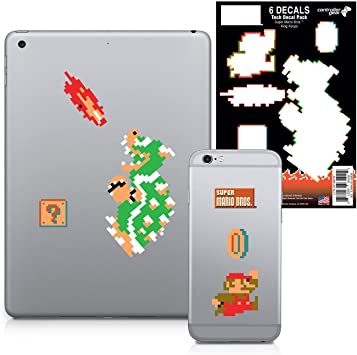 Amazon Com Super Mario Bros Gaming Tech Decals Dungeon King