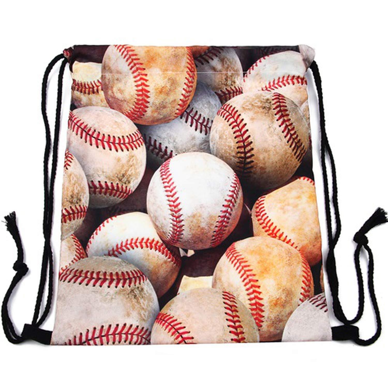 Amazon.com | 3D printing Women drawstring backpack Classic forever brand mochila escolar man bags | Drawstring Bags