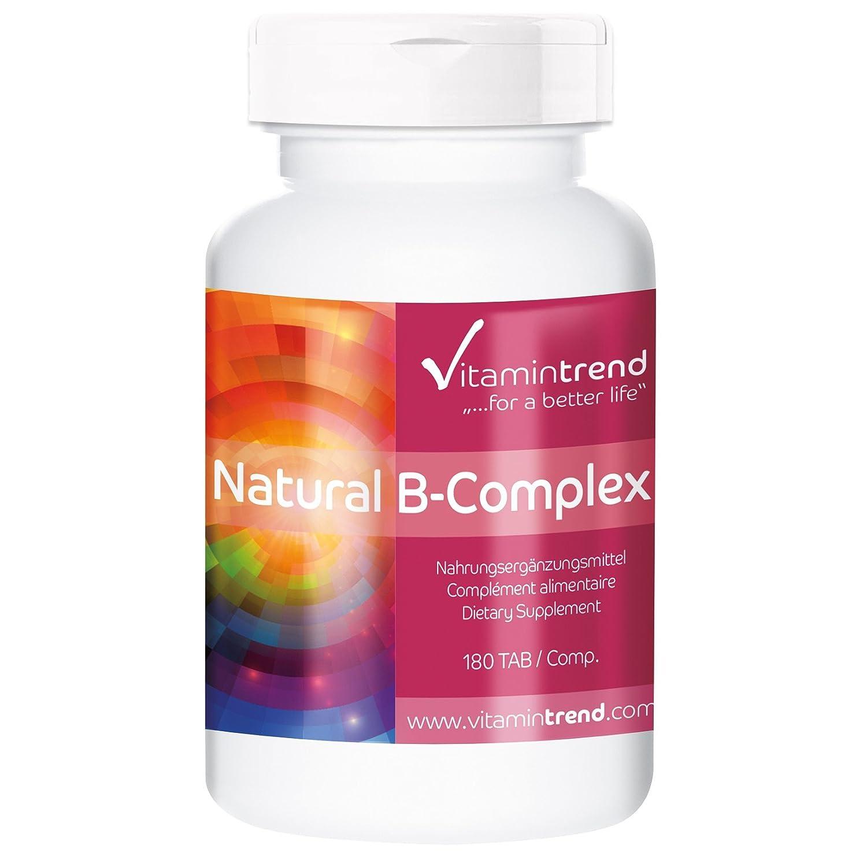multivitamínico - alta dosificación de vitamina B - 180 tabletas - para el metabolismo, el sistema inmune, la formación de sangre: Amazon.es: Salud y ...