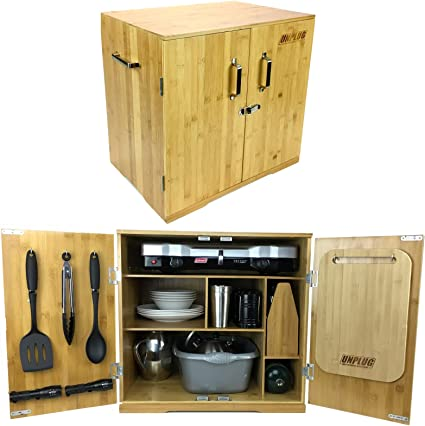 Ultimate Chuck Box Camping Kitchen Includes Luxury Outdoor Cooking And Dining Essentials Organized In Custom Portable Camp Kitchen Cabinet Easy Car Camping Touring Family Days Out Tailgating Amazon Ca