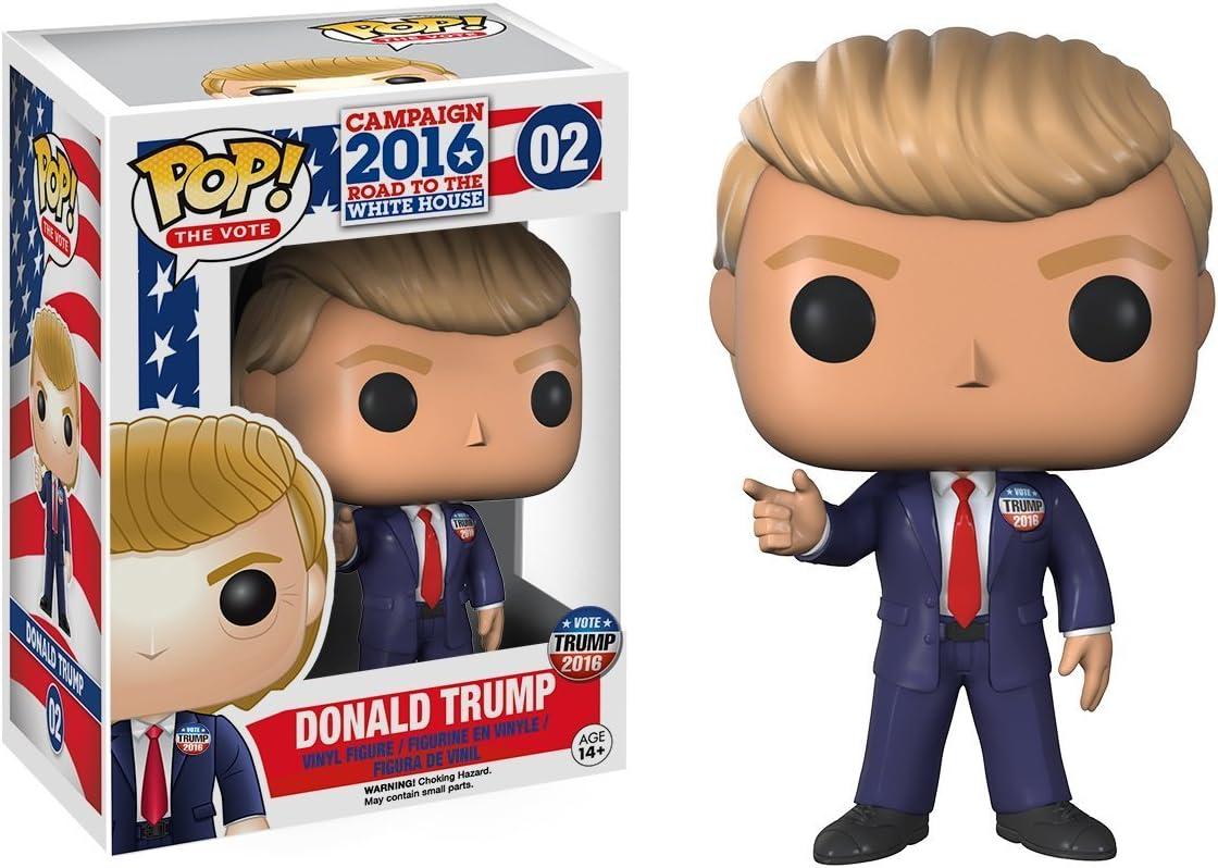 President Donald Trump The Campaign 2016 POP The Vote #02 Vinyl Figur Funko