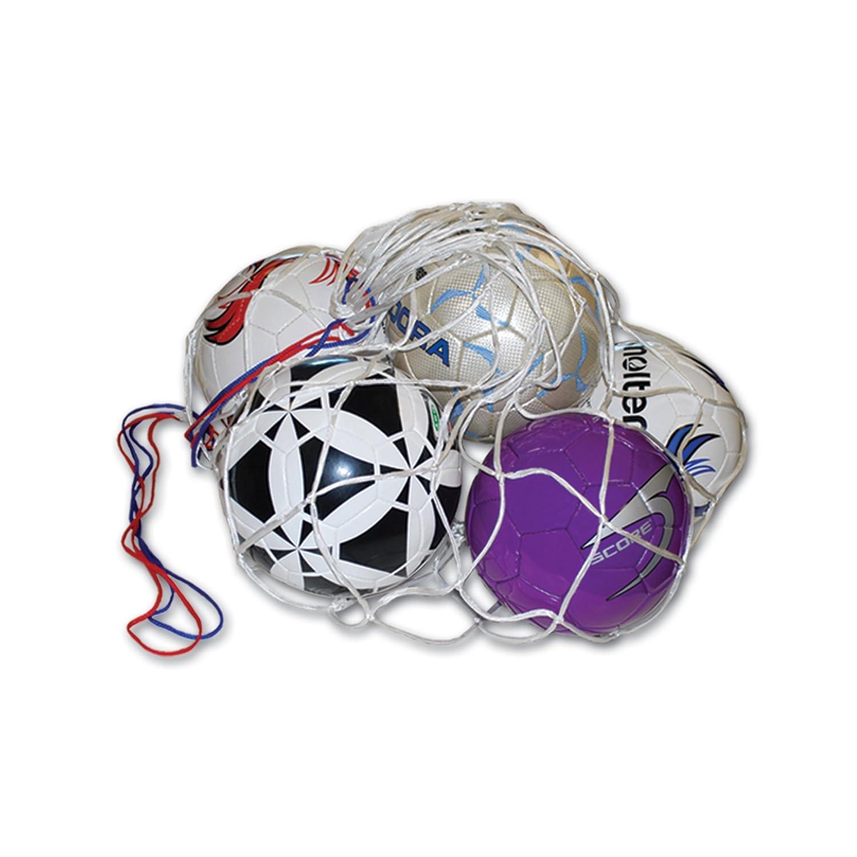 4de6c1365 Amazon.com : AGORA Soccer Ball Net Carrier Bag (10-12 Balls), White : Coach  Equipment Bag : Sports & Outdoors