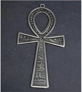 Amazon.com: Classic Ankh egipcio Egipto Cruz logotipo ...