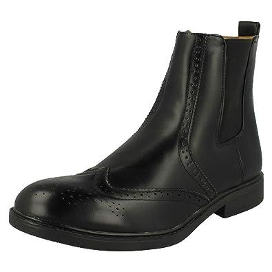 b88b9494aae Mens Maverick Brogue Ankle Boots Style - A3050 - D