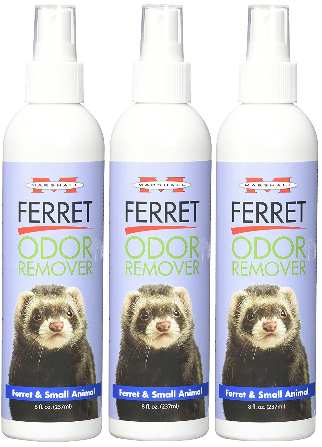 (3 Pack) Marshall Ferret and Small Animal Odor Remover