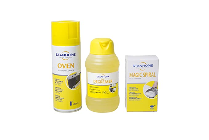STANHOME - Offerta Set Oven, Degreaser 50ml & Magic Spiral ...