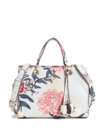 Scarpe borse Grey Floral e Seraphina Guess Amazon Satchel it q8xUw4Y7w