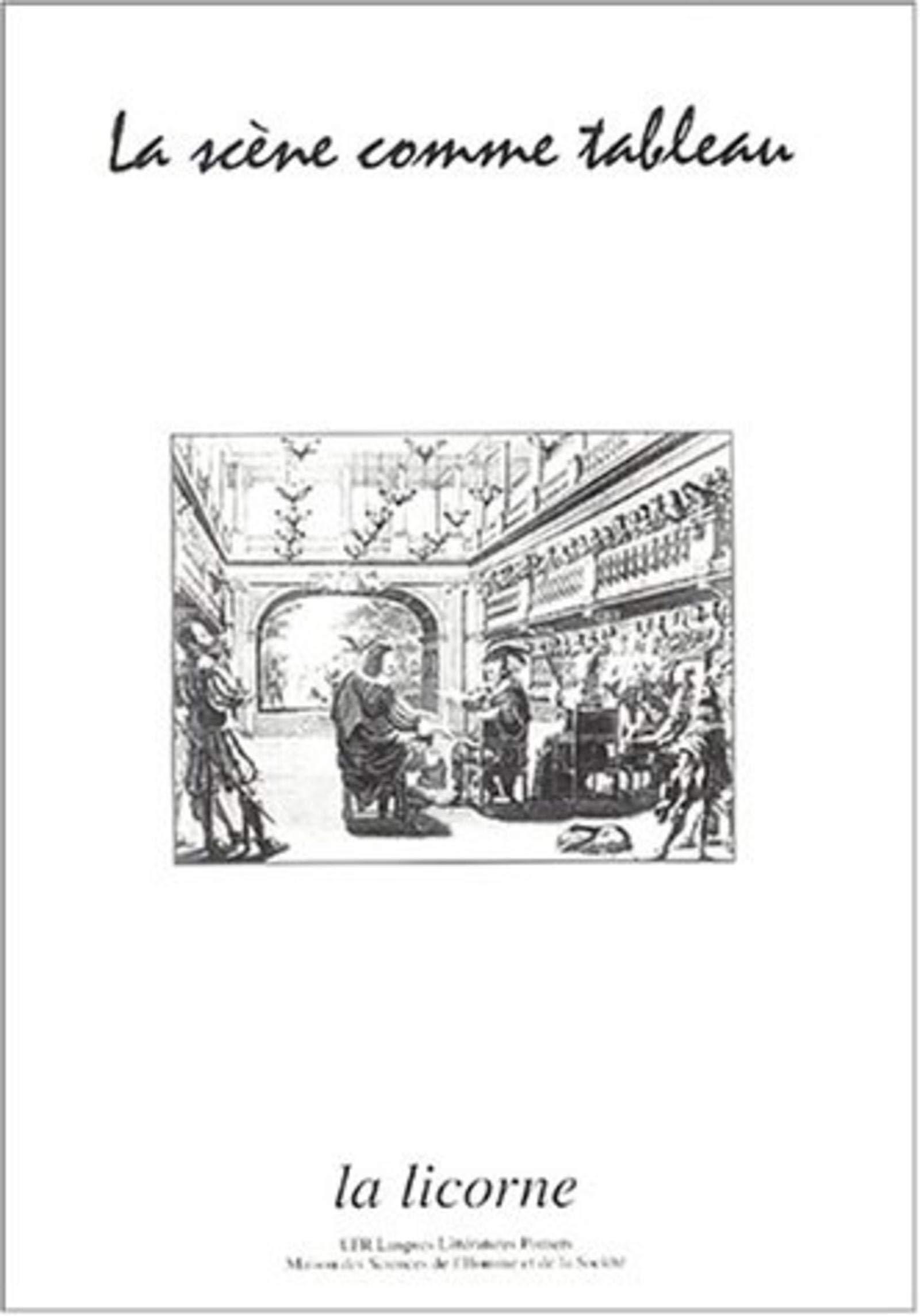 Scene Comme Tableau La Licorne Haquette Haquette Jean Louis Henin Emmanuelle 9782911044816 Amazon Com Books