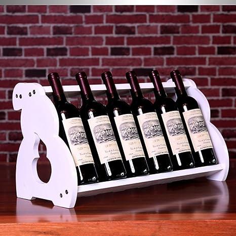 Rustici Di Vino Rustico Con Supporto In Vetro Sotto Controsoffitto