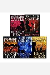 Richard Castle 5 Books Collection Set (Deadly Heat, Frozen Heat, Heat Rises, Naked Heat and Heat Wave) Paperback