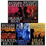 Richard Castle 5 Books Collection Set (Nikki Heat Series), (Deadly Heat, Frozen Heat, Heat Rises, Naked Heat and Heat Wave)