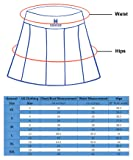 Women's Built-in Shorts Skirts Fitness Pleated