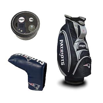 Amazon.com: Team Golf New England Patriots Football Golf Bag ...