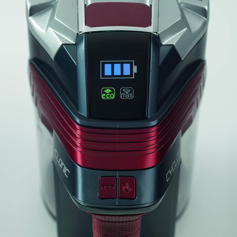 Rosso Ariete 2767 aspiratore portatile Senza sacchetto Nero
