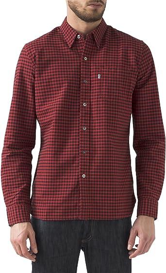 Camisa Levis Sunset Roja XXL Rojo: Amazon.es: Ropa y accesorios