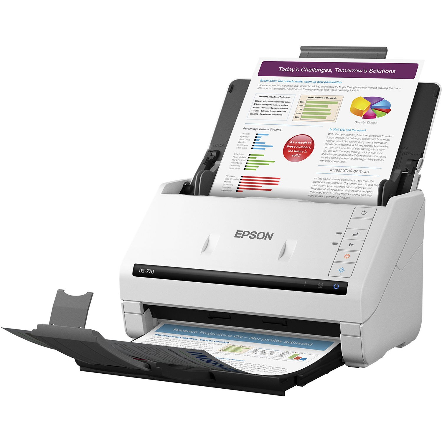 Amazon Epson DS 770 Document Scanner 45 ppm TWAIN & ISIS