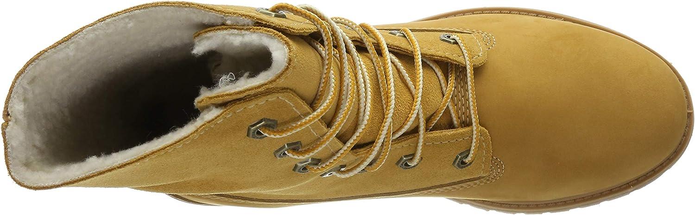 Timberland Boot Authentics Warm Line Damen Stiefel Gold Schuhe