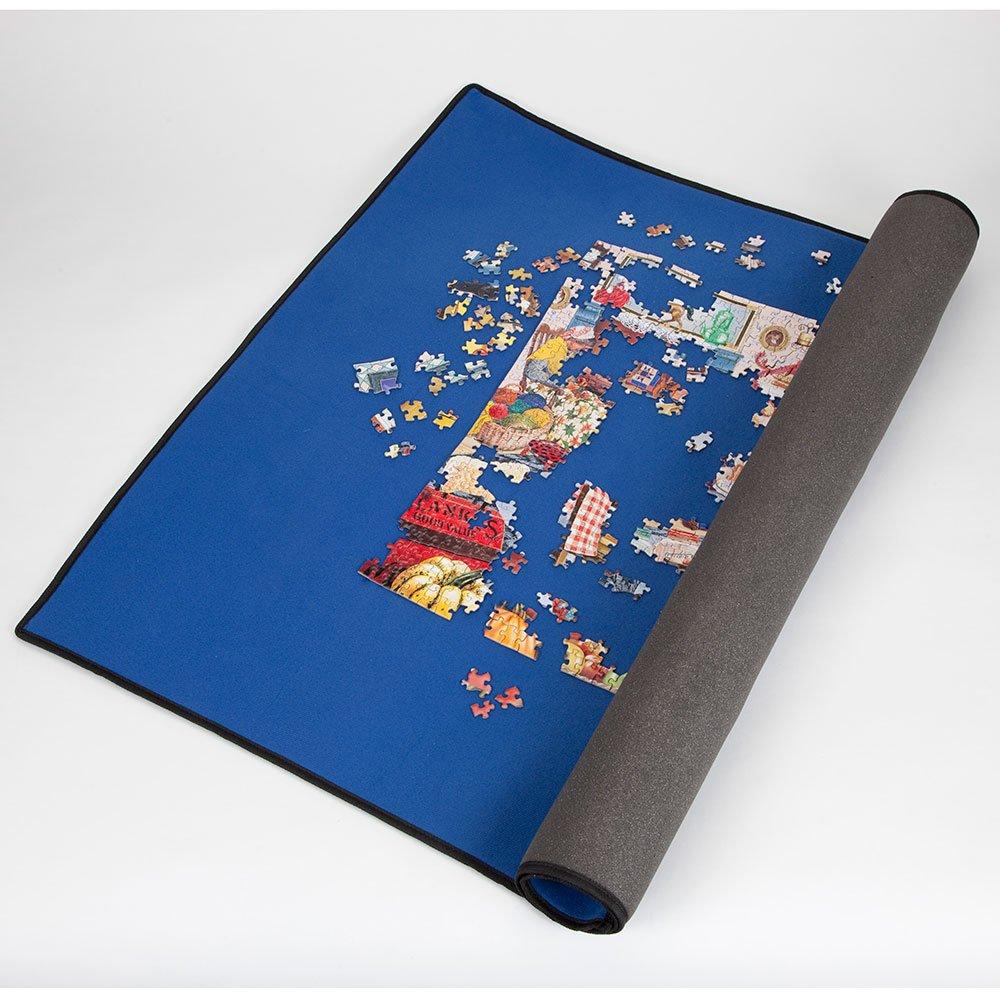 Bits and Pieces - World's Best Puzzle Roll-Up System - Store Partially Finished Puzzles - Fits Puzzles up to 1500 Pieces - Measures 28'' x 38'' by Bits and Pieces