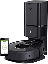 iRobot Roomba i7+ Robot Vacuum with Automatic Dirt Disposal-Empties Itself, Wi-Fi Connected, Smart Mapping, Works with...