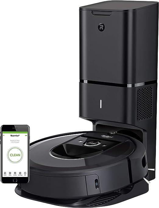 iRobot Roomba i7+ Aspiradora Robot con conexión Wi-Fi: Amazon.es ...