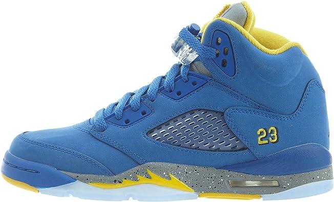Air Jordan 5 Laney JSP (GS) Big Kids Shoes Varsity Royal/Varsity Maize ci3287-400