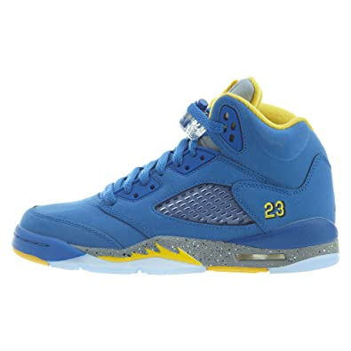 c448590ac5b781 Air Jordan Retro 5 quot Laney JSP Varsity Royal Varsity Maize (GS) (