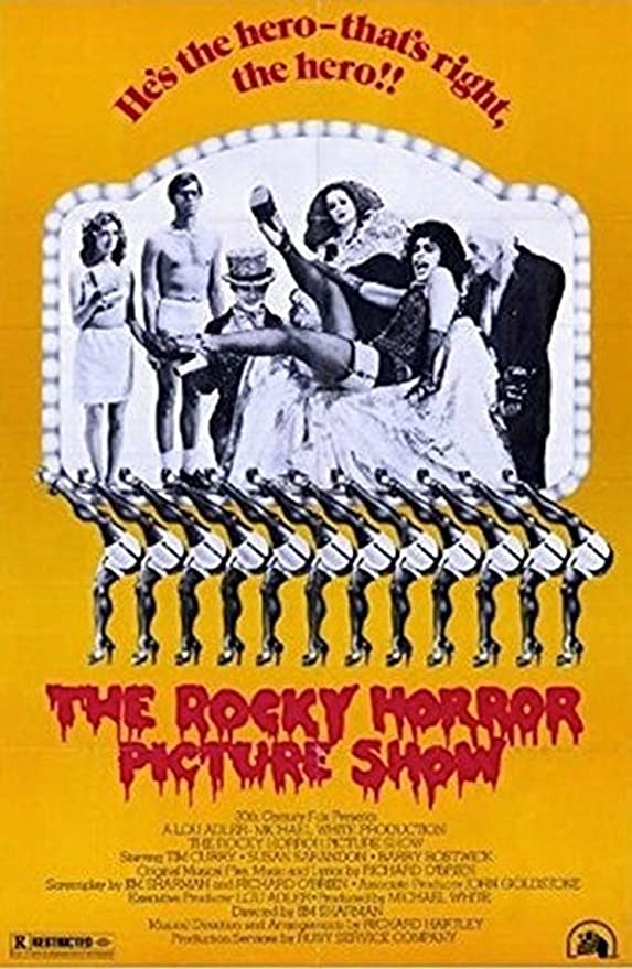 Tim Curry The Rocky Horror Picture Show Poster