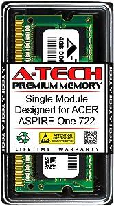 A-Tech 4GB RAM for ACER Aspire ONE 722 | DDR3 1333MHz SODIMM PC3-10600 204-Pin Non-ECC Memory Upgrade Module