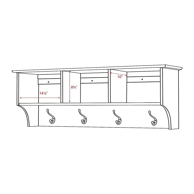100 everett espresso shoe storage cubbie bench entryway sho