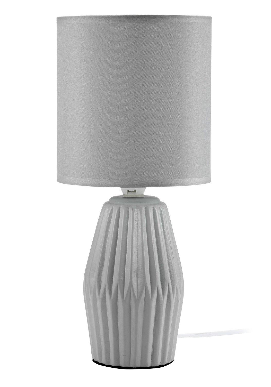 Mathias 3412007 lámpara Aki, cerámica/ABJ poliéster, E14, 230 W ...