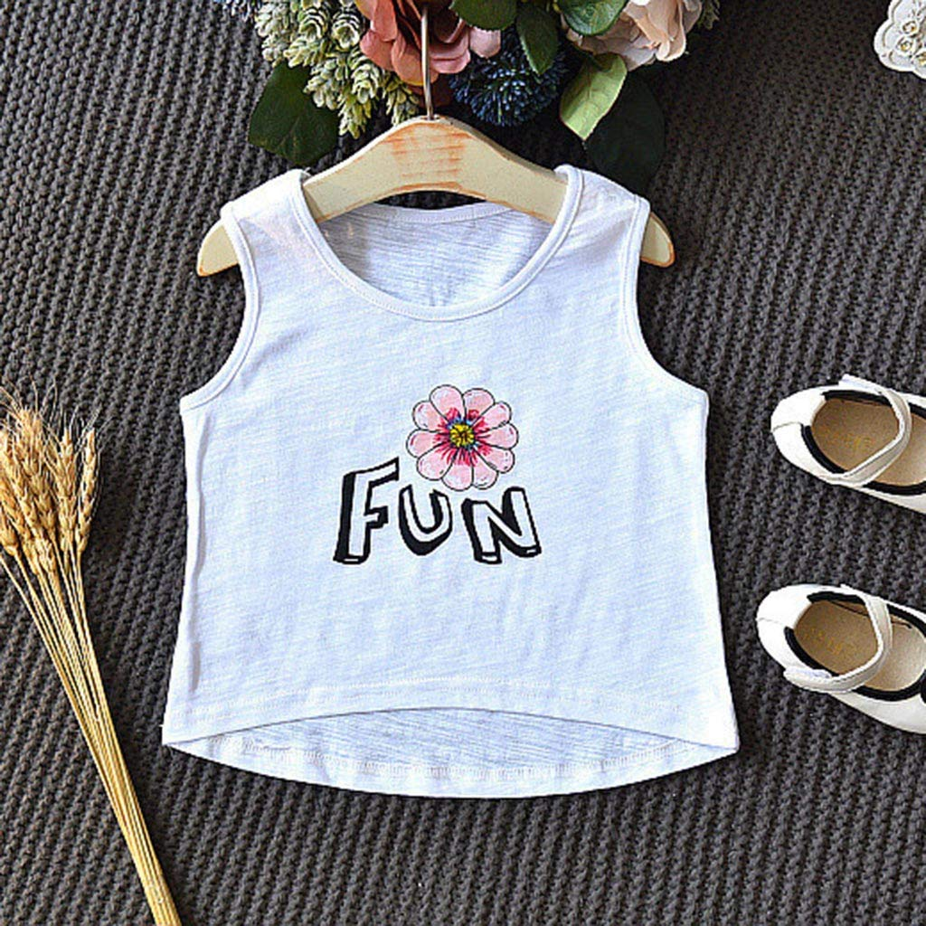 Love Africa Shirt Baby Girls Ruffles Funny T-Shirt for 2-6 Years Old Baby