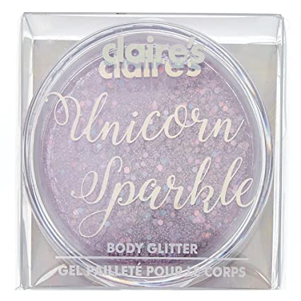 Amazon.com: Claire s Girl s Unicorn Sparkle cuerpo con ...