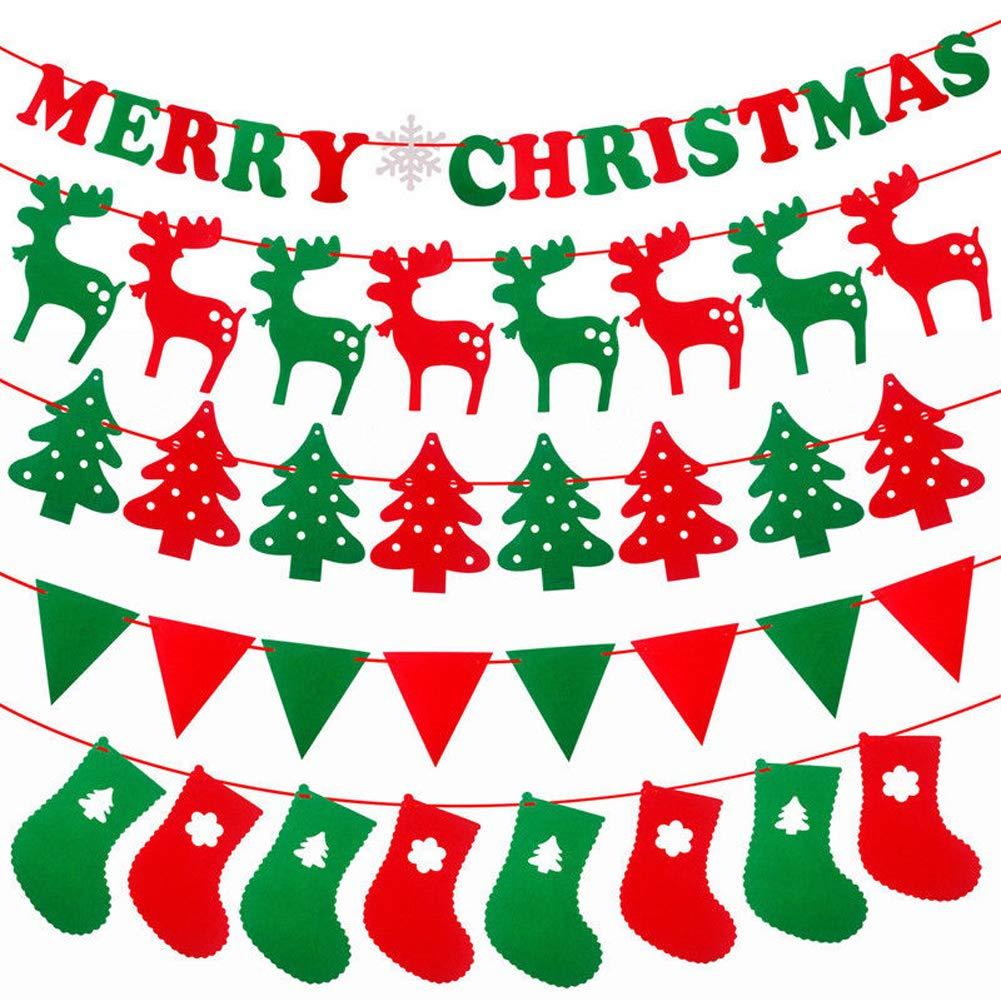 Décoration De Noël Pour Chambre Drapeau Du Père Noël Pour Magasin JLySHOP  Décoration Murale Pour Hôtel
