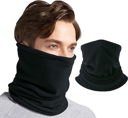 Neck Warmer Fleece Scarf Windproof Ski Face Hanging Mask Summer Head Scarf