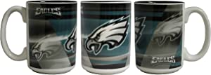 Memory Company NFL Philadelphia Eagles 15oz Shadow Mug