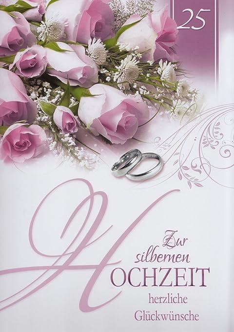Auguri Matrimonio Anniversario : A xxl biglietto d auguri nozze d argento anniversario di
