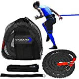 Kinetic Bands Acceleration Speed Cord for Resistance Training to Improve Strength, Power, and Agility