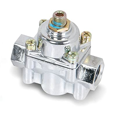Holley 12-803 Fuel Pump Fuel Pressure Regulator: Automotive