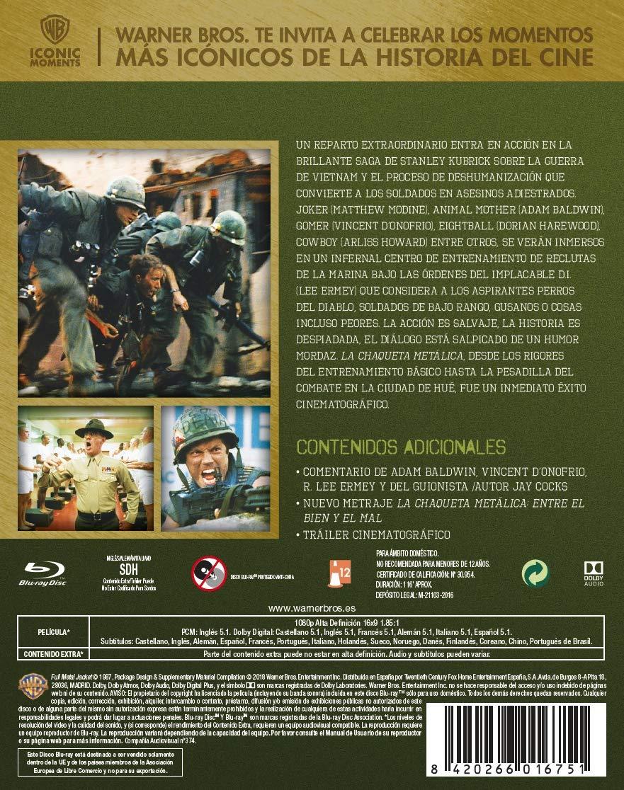 La Chaqueta Metálica Edición Especial Bluray Iconic Blu-ray ...