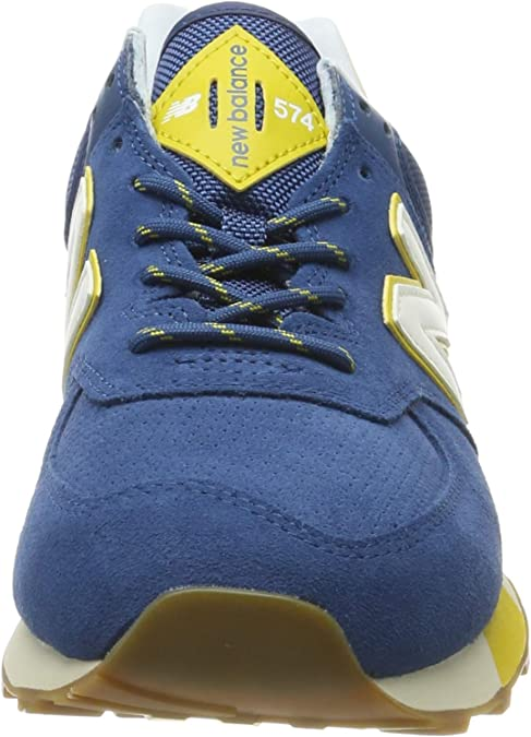 new balance 574 blu e giallo