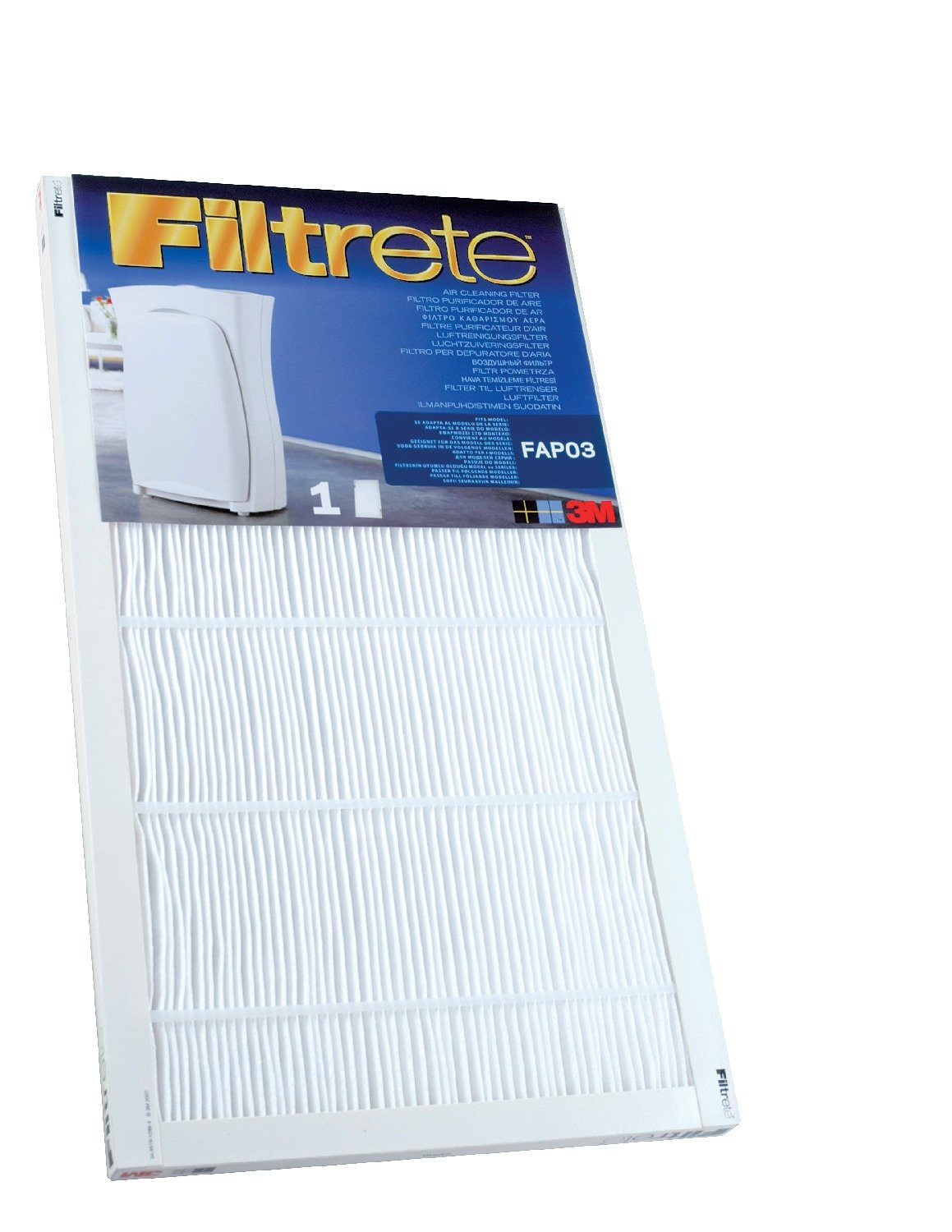 Filtrete FAPF01/02 Ultra Clean Small Air Purifier Replacement Filter - For Filtrete Air Purifier Model: FAP01 and FAP02-1 Filter 3M XN004210367