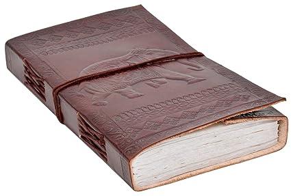 Gusti Cuir Nature Sandra Livre Avec Couverture En Cuir Bloc Note Journal Intime Agenda Calepin Journal En Cuir Fait Main Bloc A Dessin Album Photo