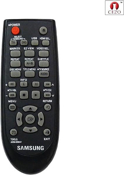 Cezo - Mando a Distancia para Reproductor de DVD Compatible con ...