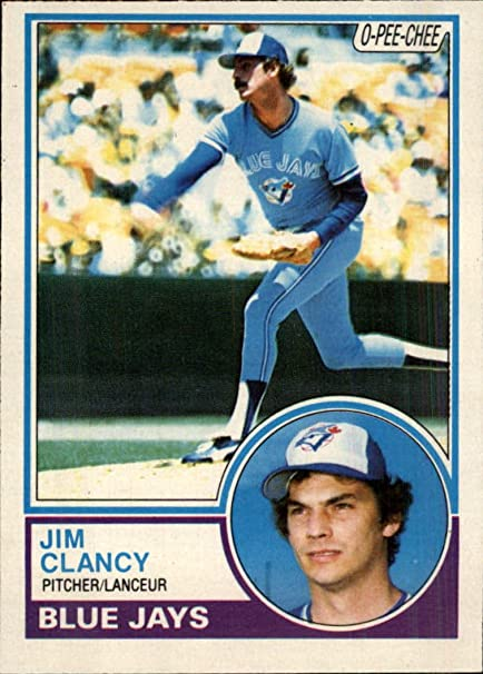 1983 O Pee Chee 345 Jim Clancy Baseball Card Gotbaseballcards At