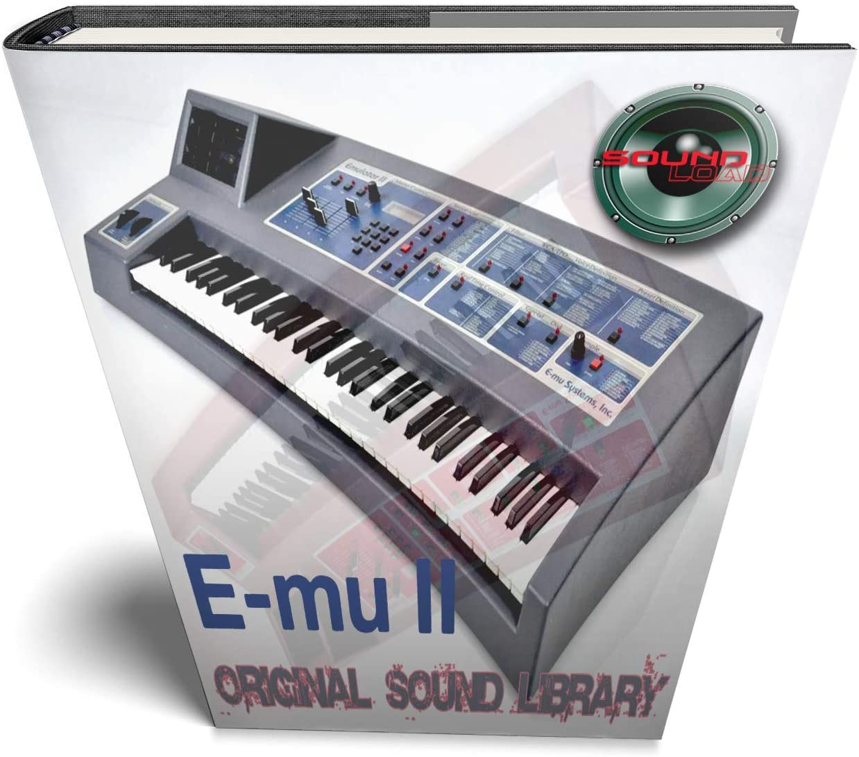 E-mu Emulator II - Emulator II grande original de 24 bits, multicapa, muestras de contacto, 3,41 GB en DVD o descarga