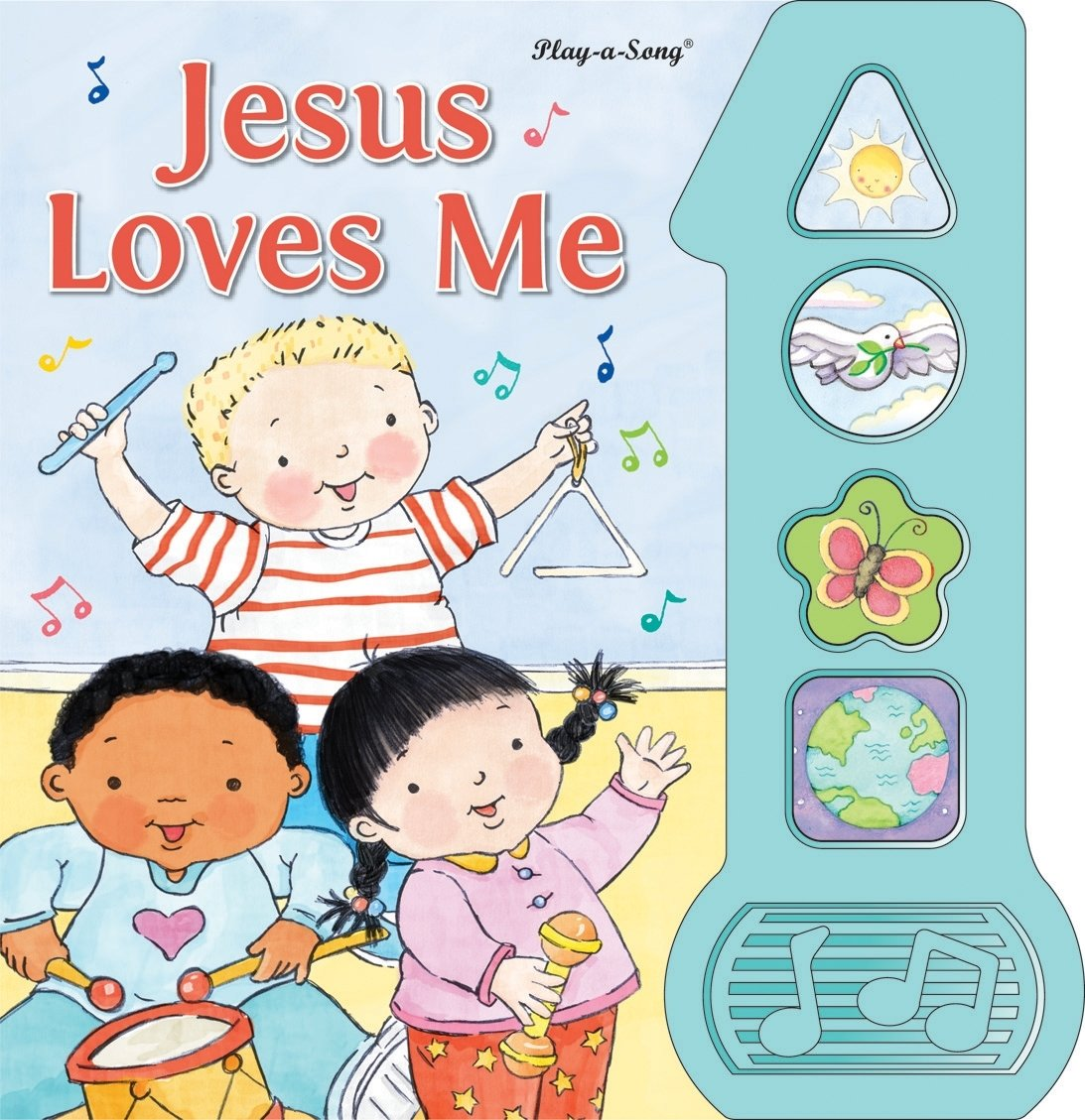 Jesus Loves Me Play-a-Song Book: 9781450808736: Amazon com: Books